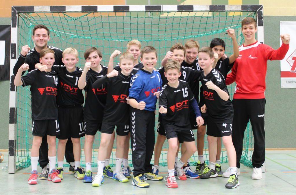 Männliche D2 und C2 der HSG Rottweil Meister!